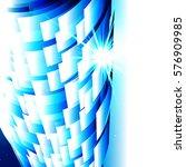 abstract technology blue... | Shutterstock . vector #576909985