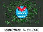 computer virus  trojan  malware ... | Shutterstock .eps vector #576910531