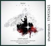 music background ready for... | Shutterstock .eps vector #576922621