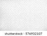 white brick wall texture... | Shutterstock . vector #576932107
