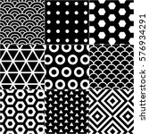vector pattern set for package  ... | Shutterstock .eps vector #576934291