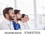 considerate physicians hearing...   Shutterstock . vector #576937531