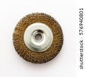 grinding disk on a white... | Shutterstock . vector #576940801