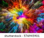 color explosion series.... | Shutterstock . vector #576945901