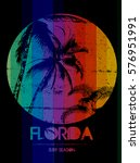 Florida Summer Tee Graphic...