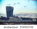 walkie talkie building on 20... | Shutterstock . vector #576952735