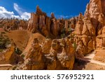 on the trail  amongst the... | Shutterstock . vector #576952921