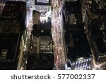 looking down on midtown... | Shutterstock . vector #577002337