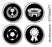 football icons   vector... | Shutterstock .eps vector #577004677