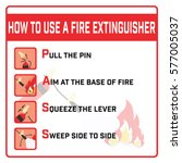 How To Use A Fire Extinguisher...