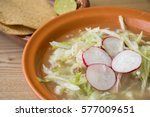 Small photo of Pozole Mexican traditional soup