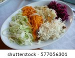 Small photo of mixed salad plate