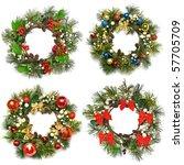 Collection Set Of Christmas...