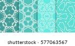 seamless set floral pattern....   Shutterstock .eps vector #577063567