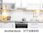 modern kitchen interior | Shutterstock . vector #577108345