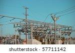 Electrical Transformer Yard