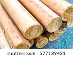 Piles Of Log Outdoors