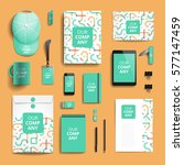 corporate identity stationery... | Shutterstock .eps vector #577147459