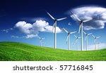 wind turbines | Shutterstock . vector #57716845