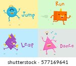 illustration featuring cute... | Shutterstock .eps vector #577169641