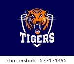 tigers   logo  icon ... | Shutterstock .eps vector #577171495