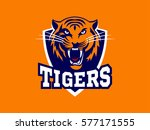 tigers   logo  icon ... | Shutterstock .eps vector #577171555