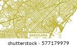 detailed vector map of... | Shutterstock .eps vector #577179979