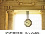 Clock Of Milan Central Train...