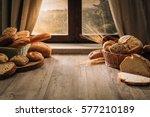 Fresh Bread On The Kitchen...