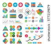 business charts. growth graph.... | Shutterstock . vector #577219879