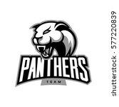 furious panther sport vector... | Shutterstock .eps vector #577220839