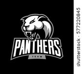 furious panther sport vector... | Shutterstock .eps vector #577220845