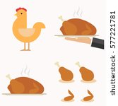 Baked Chicken  Chicken Icon ...