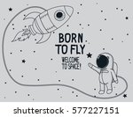 Born To Fly.vintage Poster Wit...