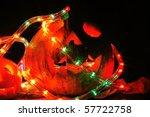 halloween pumpkin | Shutterstock . vector #57722758
