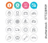 transport and services icons.... | Shutterstock . vector #577228909