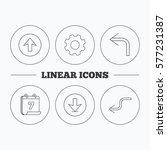 arrows icons. download  upload...