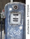 Old  American Gas Pump In...