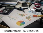 business finance  accounting ... | Shutterstock . vector #577255045