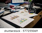 business finance  accounting ... | Shutterstock . vector #577255069