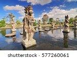 Statue At The Tirtagangga Wate...