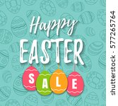 Happy Easter Sale Offer  Banne...