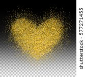confetti heart. valentines day... | Shutterstock .eps vector #577271455