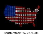 usa map vector illustration | Shutterstock .eps vector #577271881