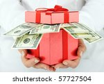 dollars | Shutterstock . vector #57727504