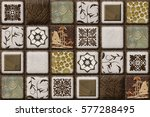 the tiles are the good texture... | Shutterstock . vector #577288495