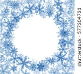 abstract christmas background... | Shutterstock . vector #577304731