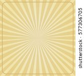 Sun Rays Background. Vector