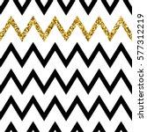 seamless pattern of golden... | Shutterstock .eps vector #577312219