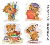 funny illustrations for... | Shutterstock .eps vector #577320781